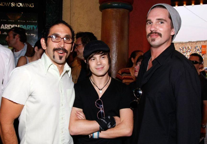 Jeff Newman, Erik Scott Smith and Ross Patterson at the Los Angeles premiere of