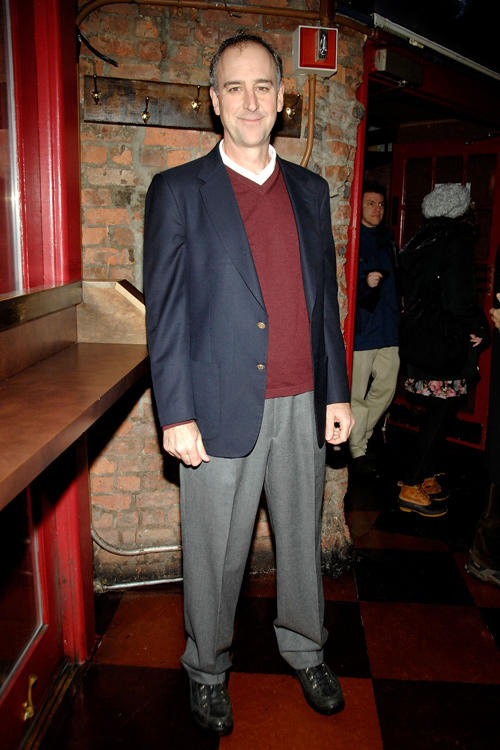 Michael Countryman at the after party of the Off-Broadway opening night of