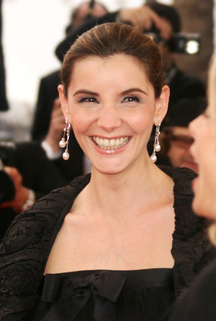Clotilde Courau at the
