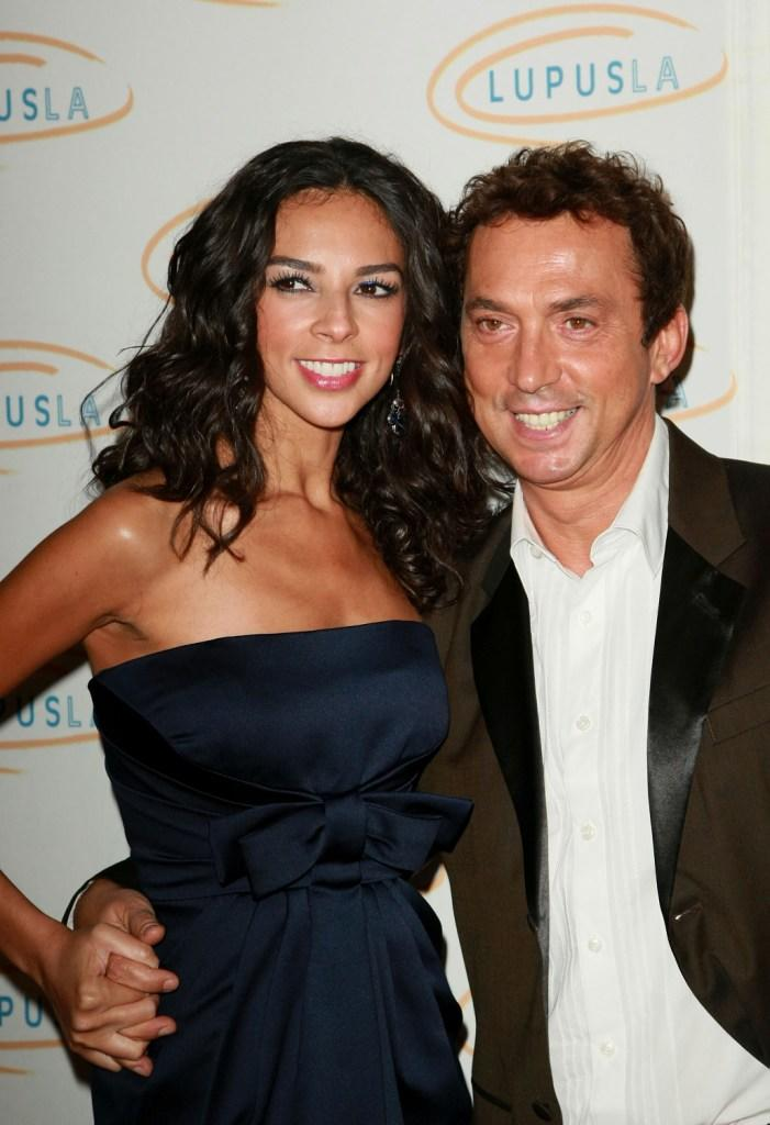 Terri Seymour and Bruno Tonioli at the Lupus LA's 2008 Orange Ball.
