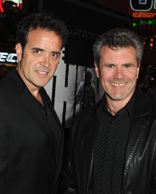 Tom Woodruff, Jr. and Alec Gillis at the California premiere of