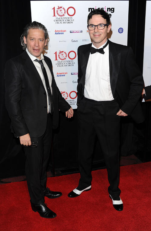 Dexter Fletcher and Charlie Creed-Miles at the London Critics Circle Film Awards.