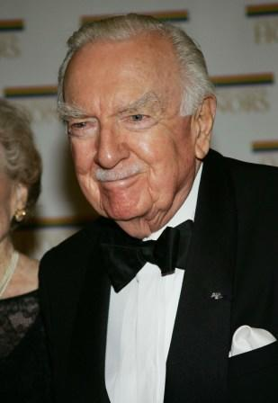 Walter Cronkite at the 27th Annual Kennedy Center Honors.
