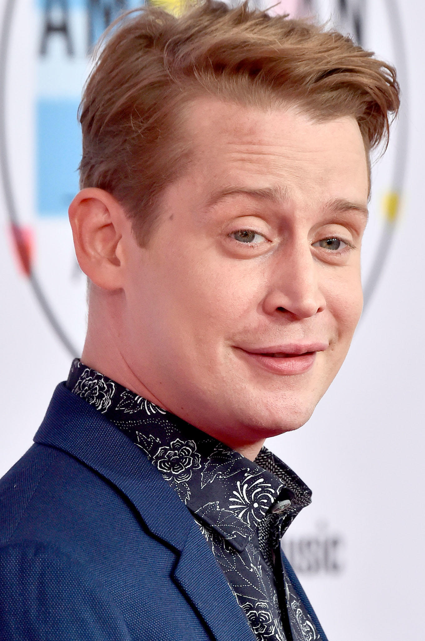 Macaulay Culkin at the 2018 American Music Award in Los Angeles.