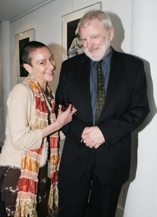 Max Cullen and wife Margarita Georgiades at the 2005 AFI Awards Nomination announcement.