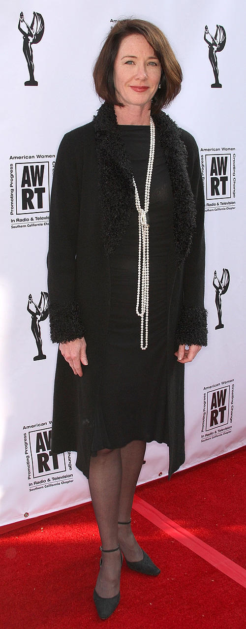 Ann Cusack at the American Women in Radio and Television 2010 Genii Awards in California.