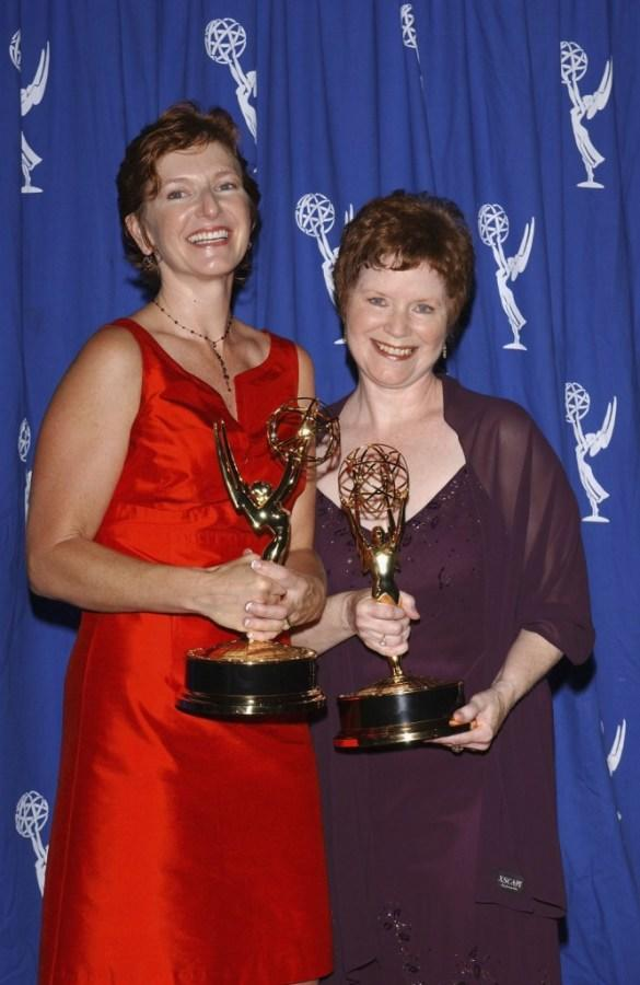 Debi Manwiller and Peggy Kennedy at the 2004 Primetime Creative Arts Emmy Awards.