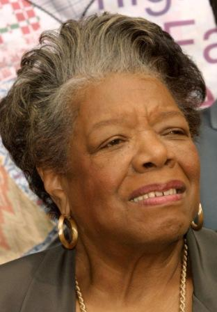 Maya Angelou at the Museum of Tolerance Unveils Exhibition.