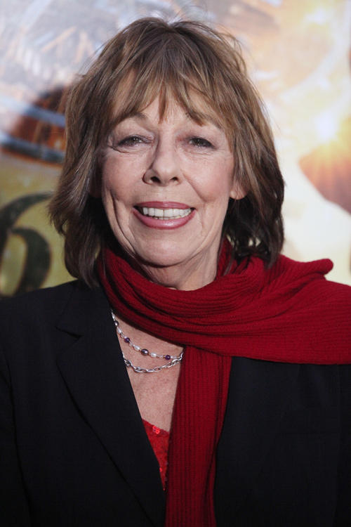Frances de la Tour at the New York premiere of