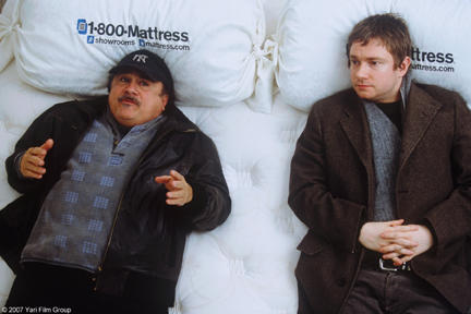 Danny DeVito and Martin Freeman in