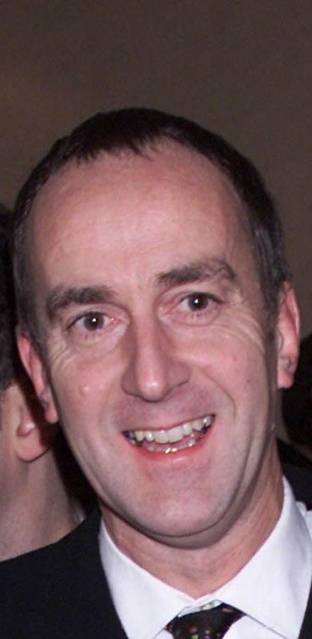 Angus Deayton at the LWT Awards.
