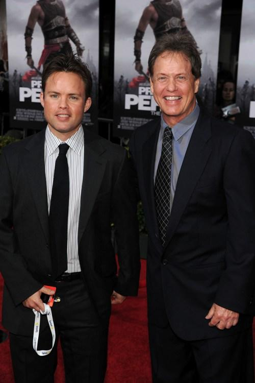 Kevin Dees and Rick Dees at the premiere of