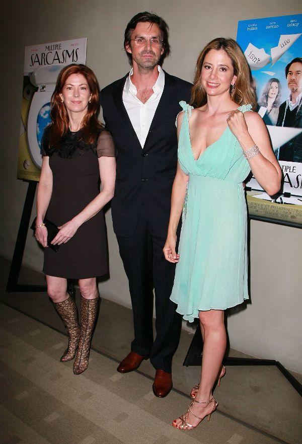 Dana Delany, Brooks Branch and Mira Sorvino at the California premiere of