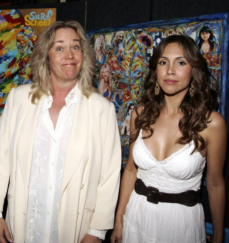 Diane Delano and Angie Ruiz at the Los Angeles premiere of