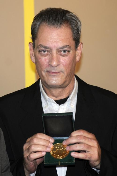 Paul Auster at the 2010 edition of