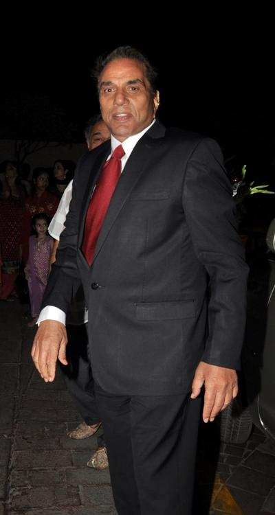 Dharmendra at the celebrity laden function in Mumbai.