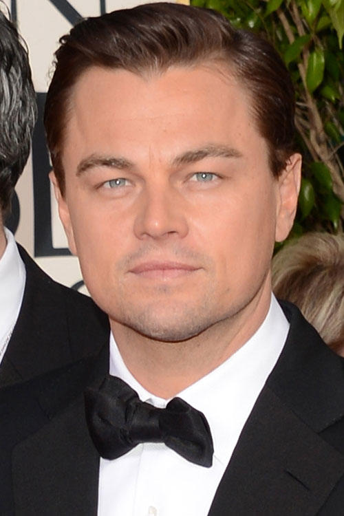 Leonardo DiCaprio at the 70th Annual Golden Globe Awards in Beverly Hills.