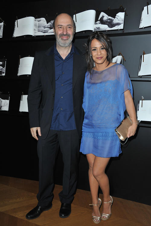 Cedric Klapisch and Alice Belaidi at the Chaumet's Cocktail party for Cesar's Revelations 2013 in Paris.