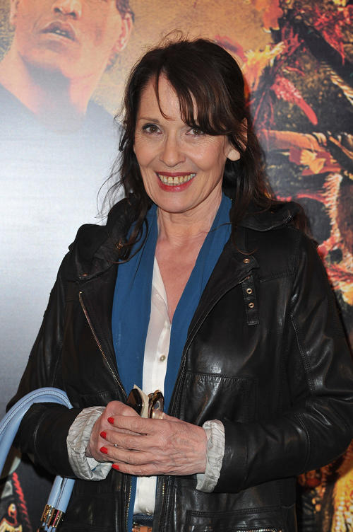 Chantal Lauby at the Paris premiere of