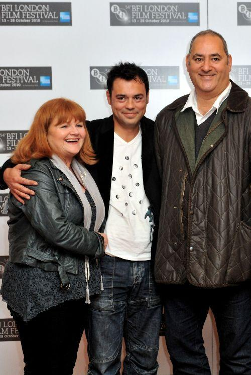 Lesley Nicol, Emil Marwa and Ayub Khan Din at the photocall of