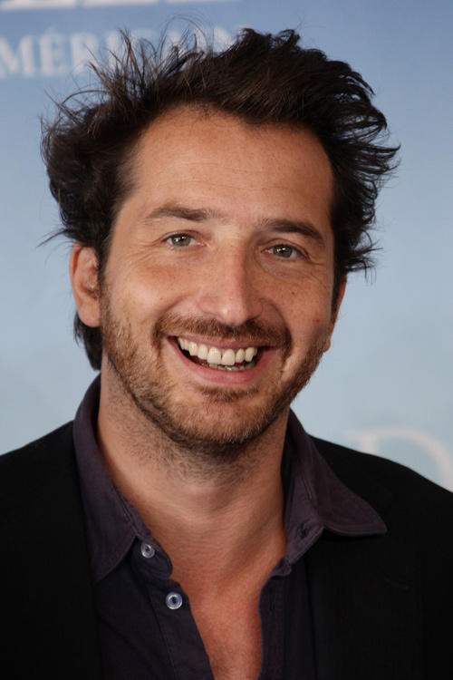 Edouard Baer at the photocall of 34th Deauville Film Festival.