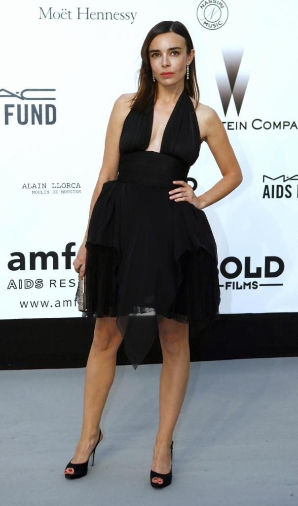 Elodie Bouchez at the amfAR's (American Foundation for AIDS Research)