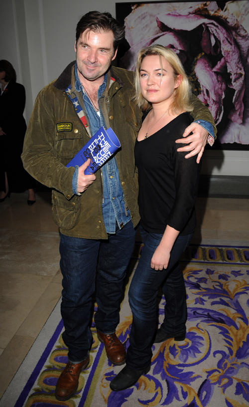 Brendan Coyle and Sophia Myles at the Old Vic 24 Hour Plays Celebrity Gala in London.