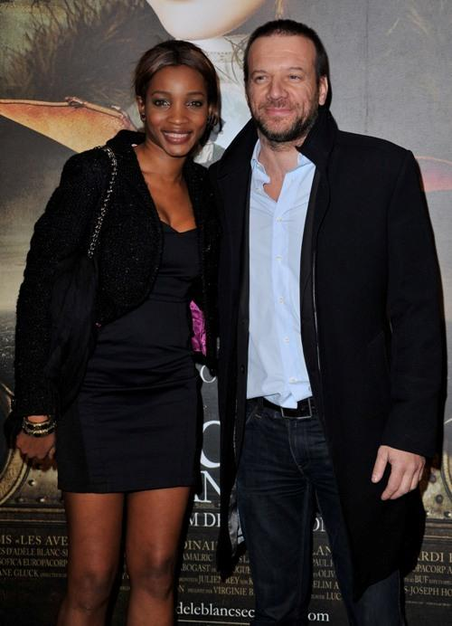 Samuel Le Bihan and Guest at the premiere of