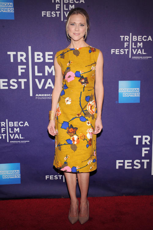 Tracy Middendorf at the premiere of