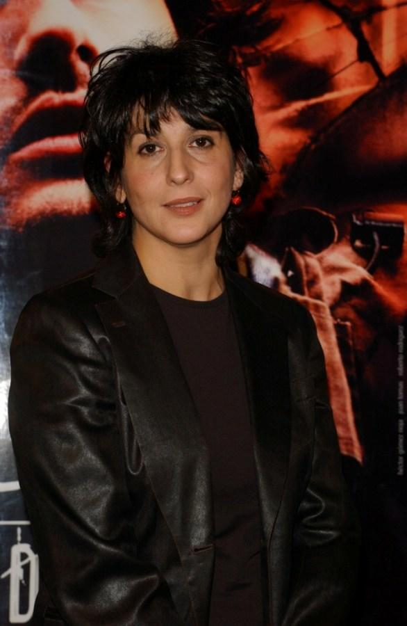 Elvira Minguez at the premiere of