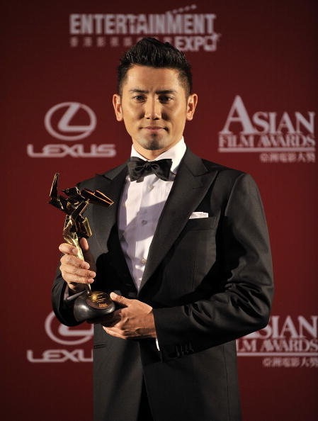Masahiro Motoki at the Asian Film Awards 2009.