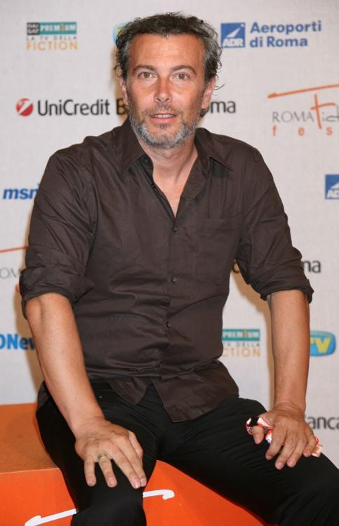 Paolo Sassanelli at the Roma Fiction Fest 2008.