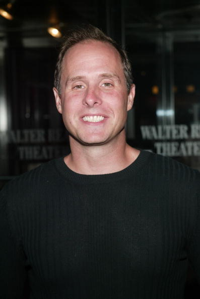 Paul Schulze at a N.Y. screening for