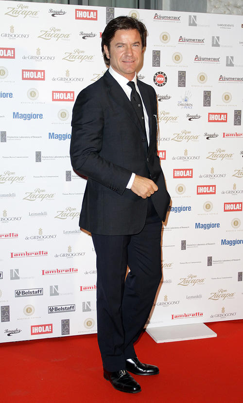 Paolo Conticini at the Children For Peace 2010 Gala Dinner in Rome.
