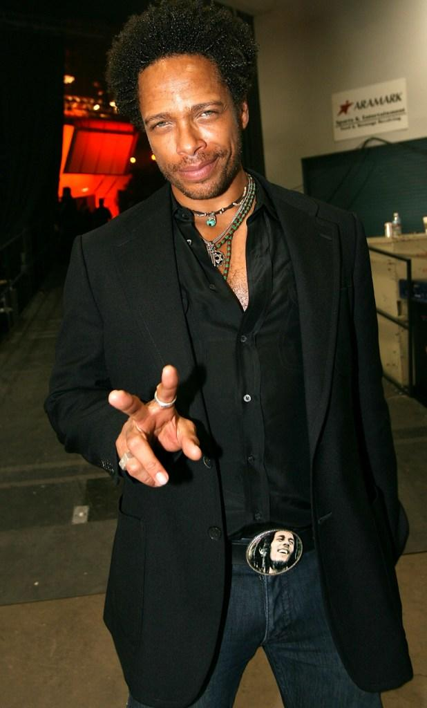 Gary Dourdan at the 42nd Annual Academy Of Country Music Awards.