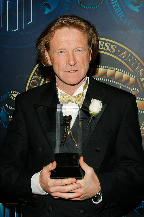 Anthony Dod Mantle at the American Society of Cinematographer's 23rd Annual Outstanding Achievement Awards.