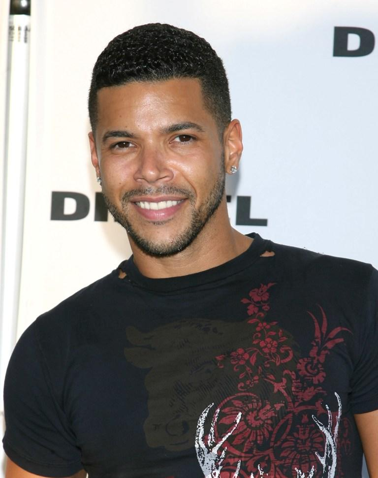 Wilson Cruz at the Opening of Melrose Place Diesel Store.