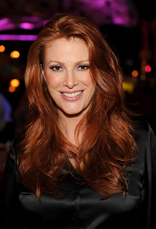 Angie Everhart at the after party of the California premiere of