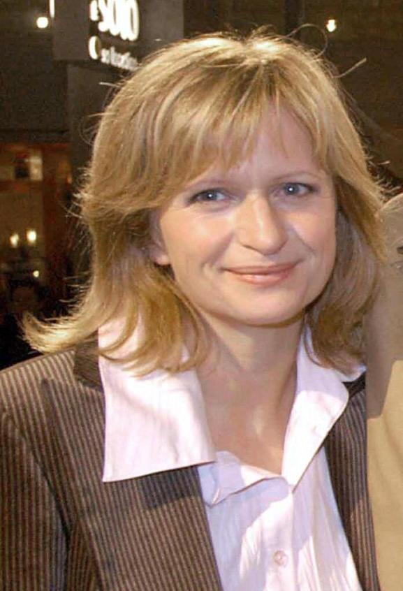 Johanna Gastdorf at the premiere of