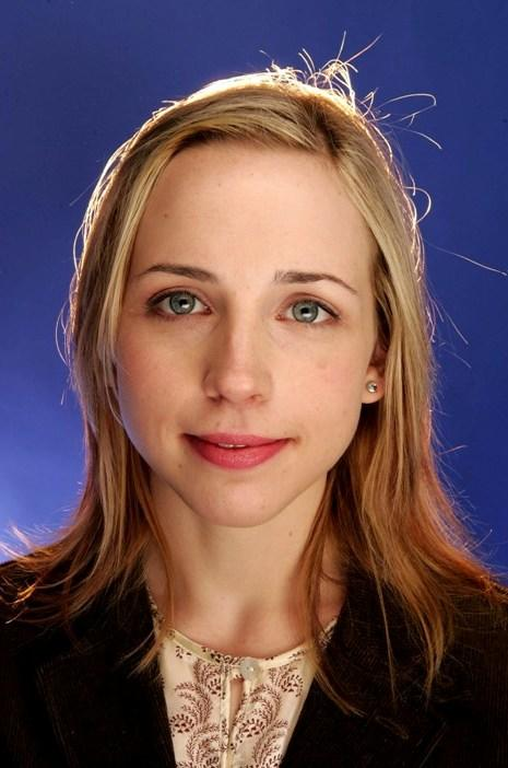 Alicia Goranson at the 2005 Sundance Film Festival.