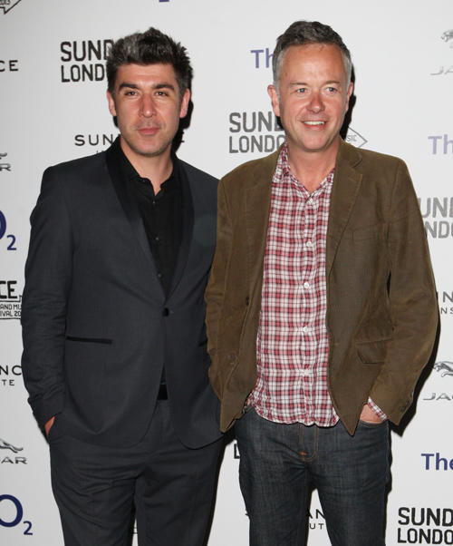 James Lance and director Michael Winterbottom at the screening of
