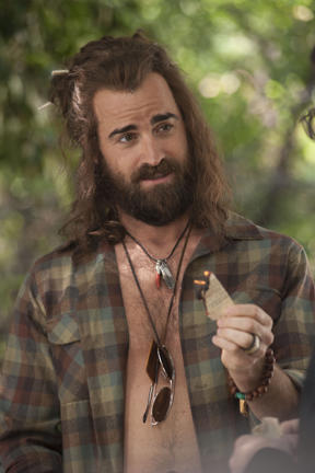 Justin Theroux as Seth in ``Wanderlust.''