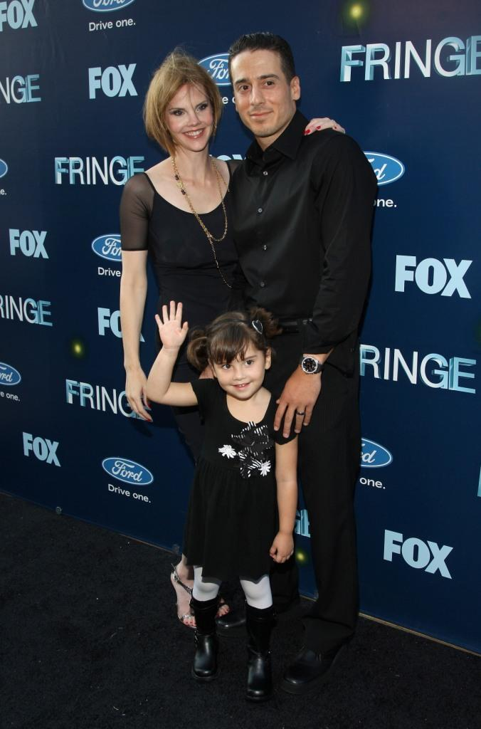 Kiersten Warren and Kirk Acevedo at the premiere party of FOX's