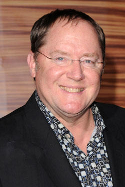 John Lasseter at the premiere of