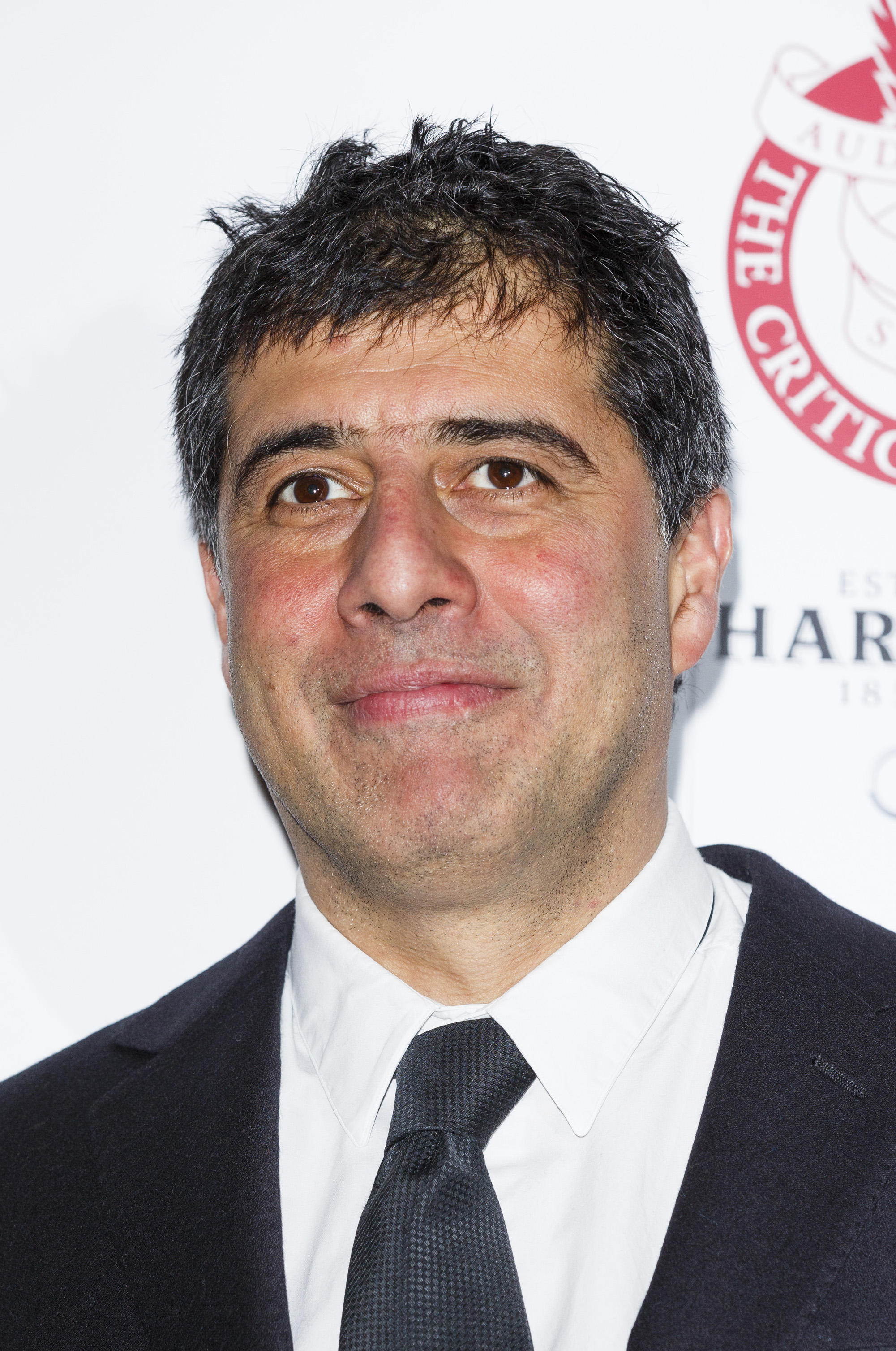 Hossein Amini at The London Critics' Circle Film Awards at The Mayfair Hotel.