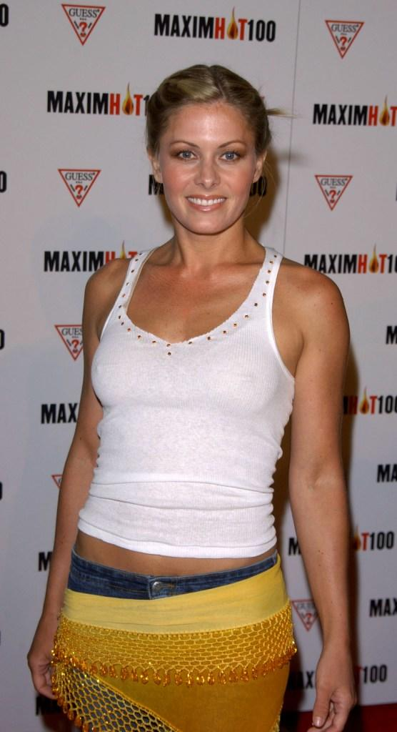 Nicole Eggert at the Maxim's Hot100 party.