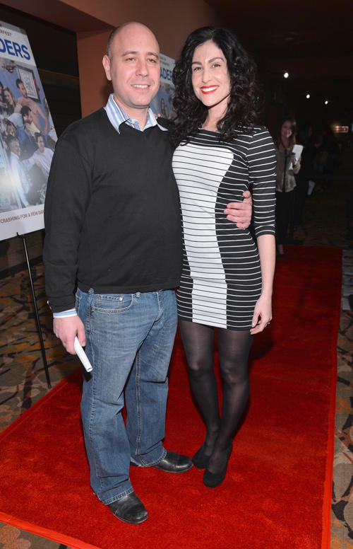 Richard Perello and Jolie Martin at the California premiere of