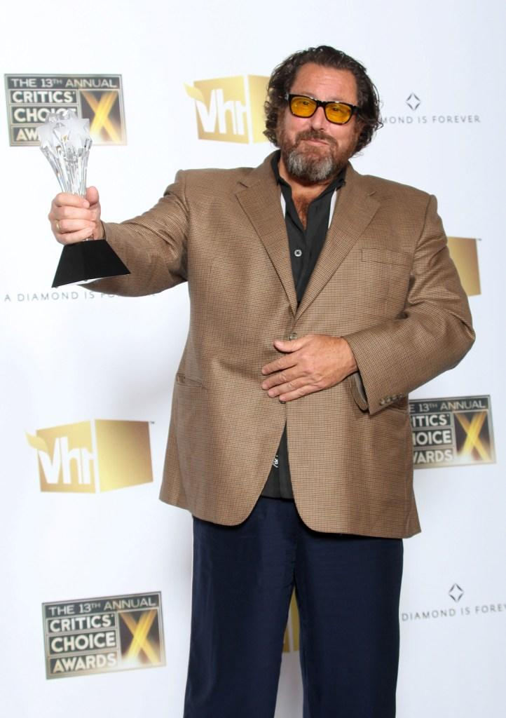Julian Schnabel at the 13th annual Critics' Choice Awards.