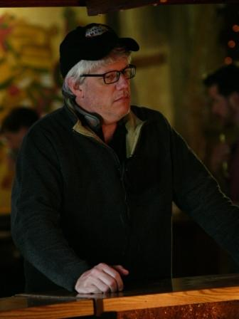 Director Peter Tolan on the set of