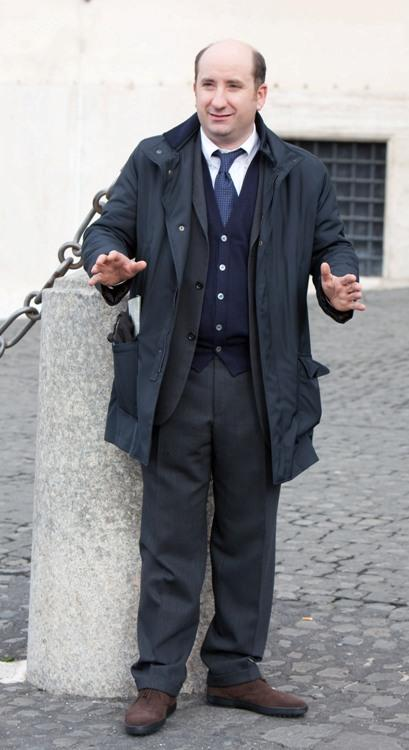 Antonio Albanese at the 2009 Vittorio De Sica Awards.